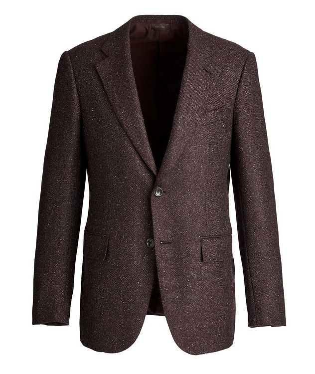 Couture Wool, Alpaca, and Silk Sports Jacket picture 1