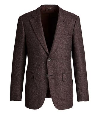 Ermenegildo Zegna Couture Wool, Alpaca, and Silk Sports Jacket