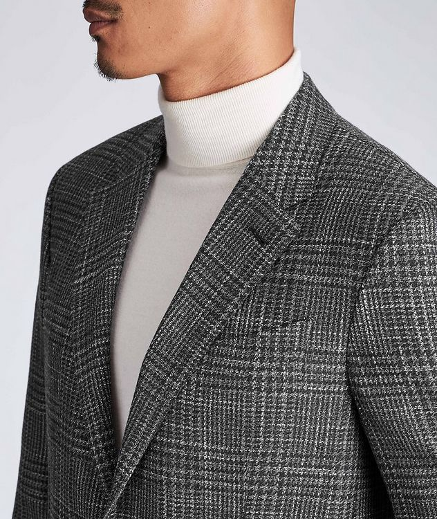 Milano Easy Wool, Silk, and Cashmere Sports Jacket picture 4