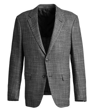 Ermenegildo Zegna Milano Easy Wool, Silk, and Cashmere Sports Jacket