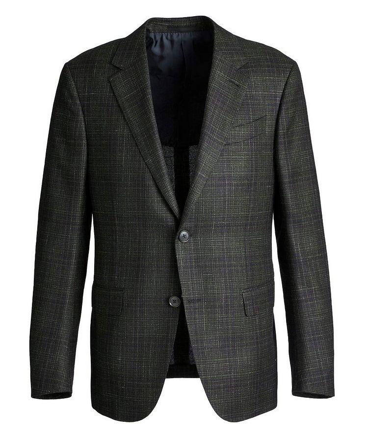 Milano Easy Wool, Cashmere, Silk, and Linen Sports Jacket image 0
