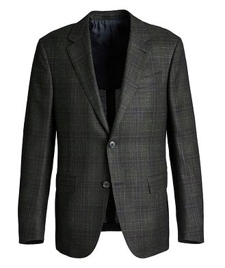 Ermenegildo Zegna Milano Easy Wool, Cashmere, Silk, and Linen Sports Jacket