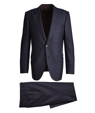 Ermenegildo Zegna Couture Checked Suit