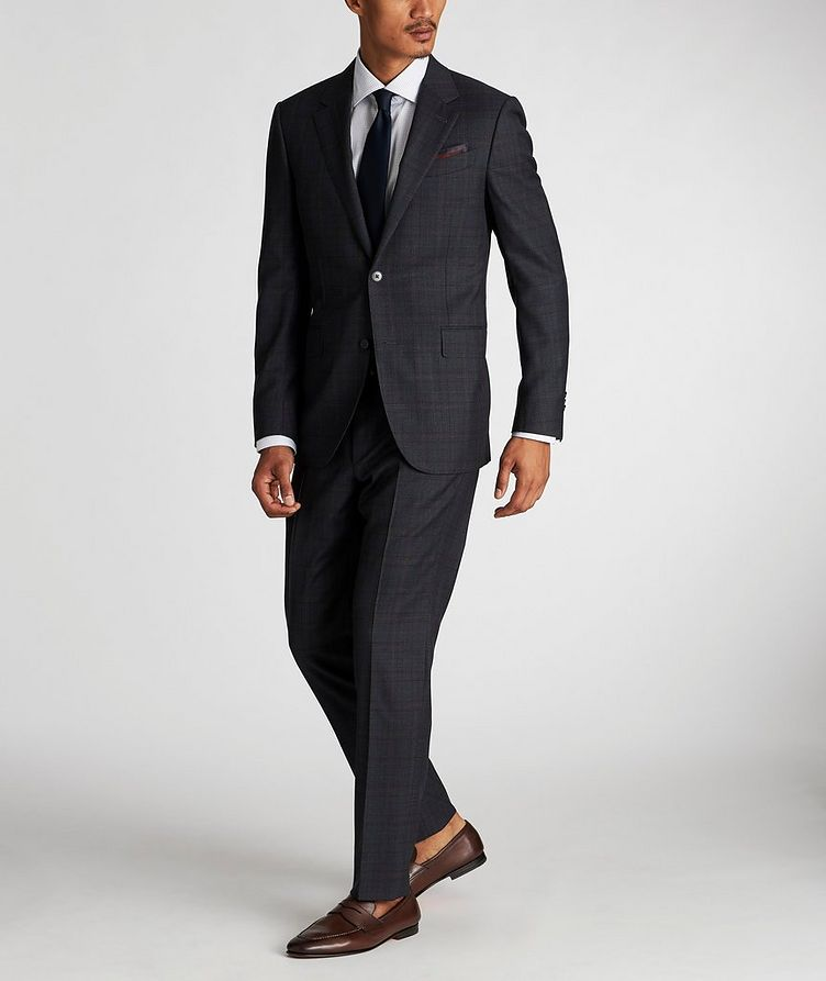 Milano Checked Suit image 1