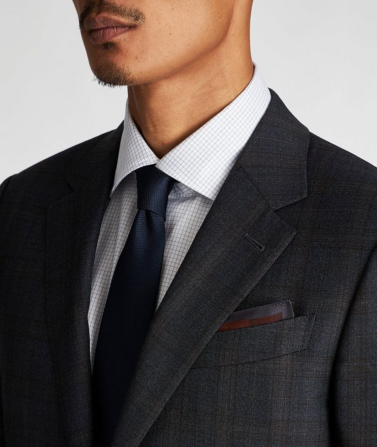 Milano Checked Suit image 3