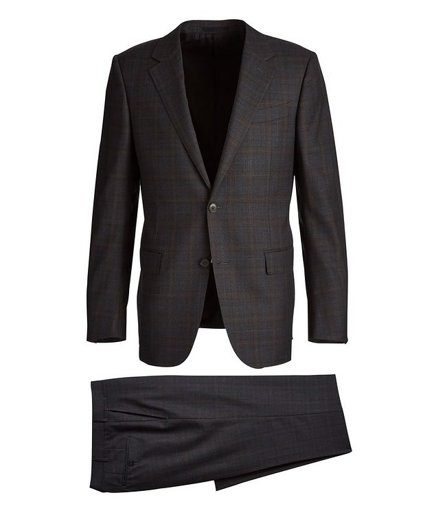 Milano Checked Suit picture 1