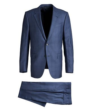 Ermenegildo Zegna Milano Trofeo Wool-Silk Suit