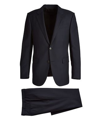 Ermenegildo Zegna Milano Multi-Season Pinstriped Suit