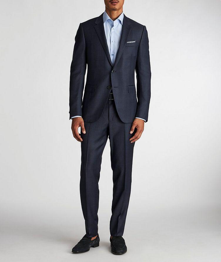 City Crosshatched Suit image 1