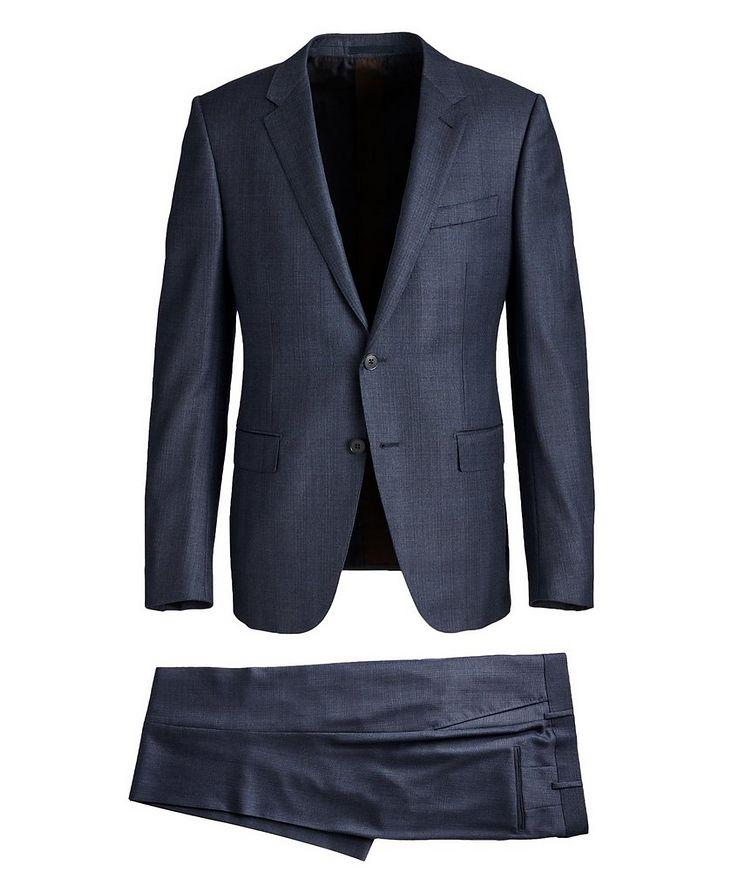 City Crosshatched Suit image 0