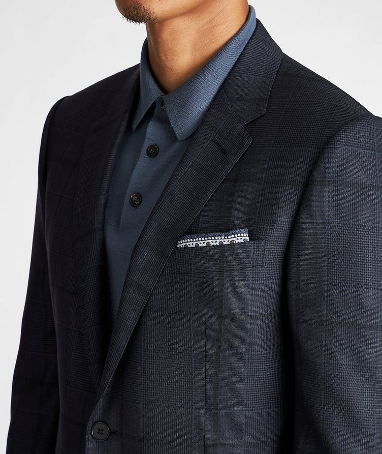 City Checked Suit image 3