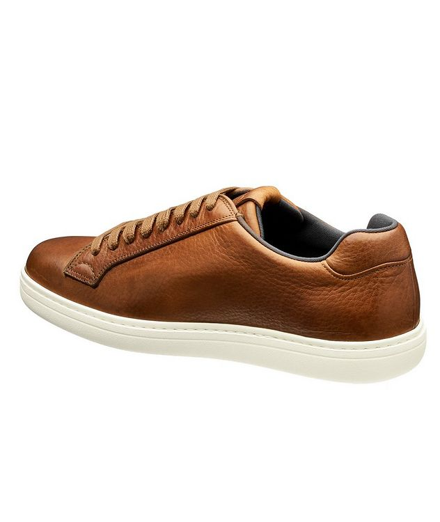 Boland Tumbled Leather Sneakers picture 2