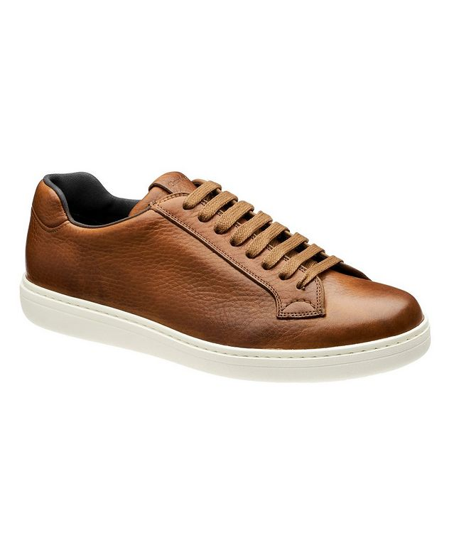 Boland Tumbled Leather Sneakers picture 1
