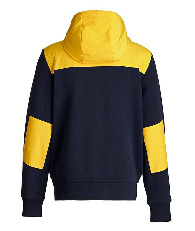 Zip-Up Cotton-Blend Hoodie picture 2