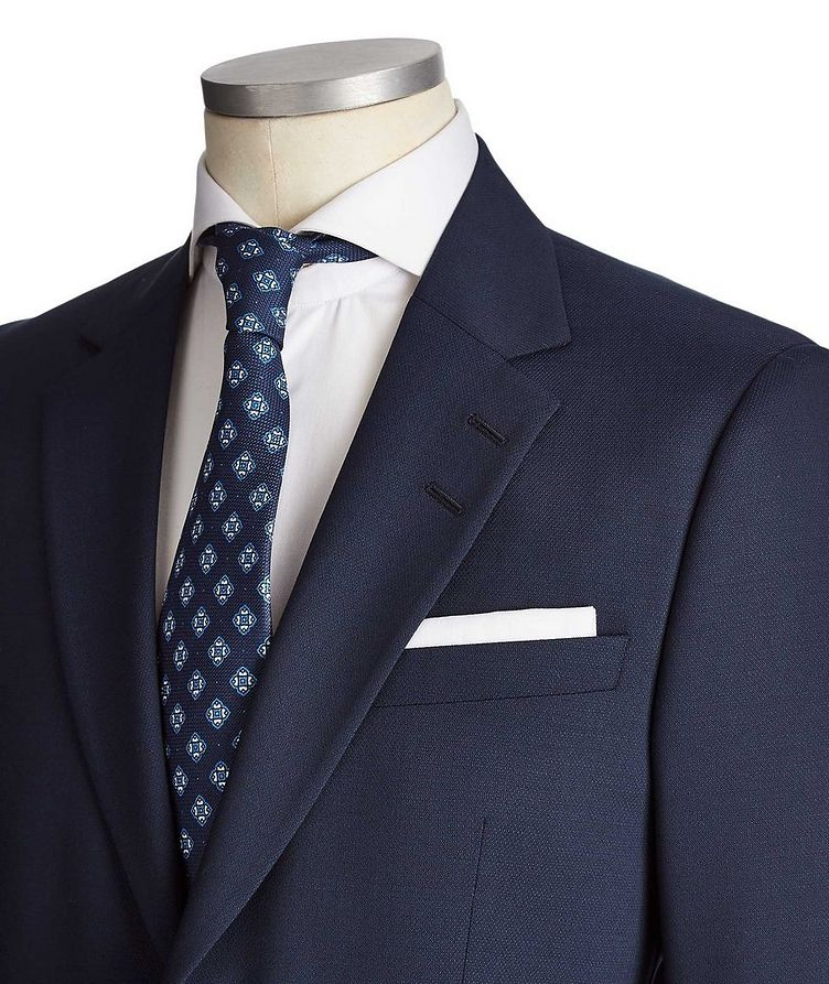 Slim Fit Jamonte/Tordon Stretch-Wool Suit image 1