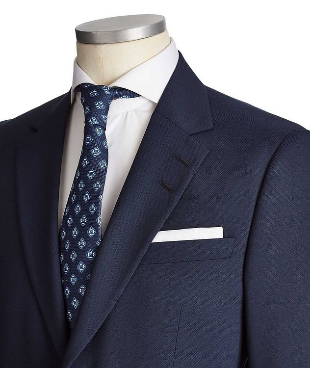 Slim Fit Jamonte/Tordon Stretch-Wool Suit picture 2