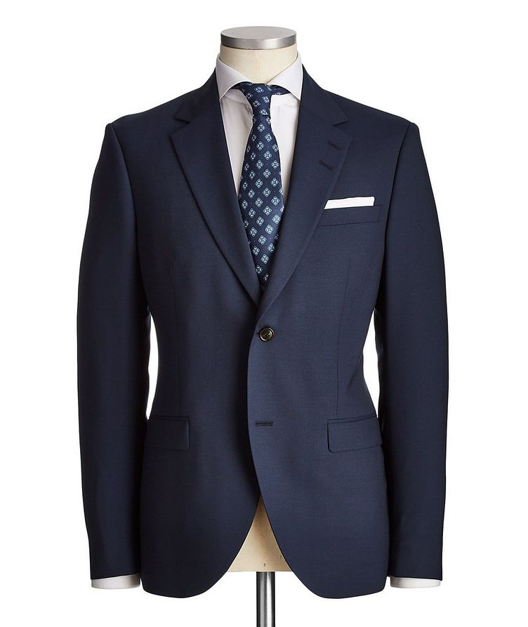 Slim Fit Jamonte/Tordon Stretch-Wool Suit image 0
