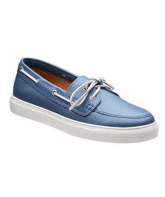 Henderson for Harry Rosen Leather Boat Shoes