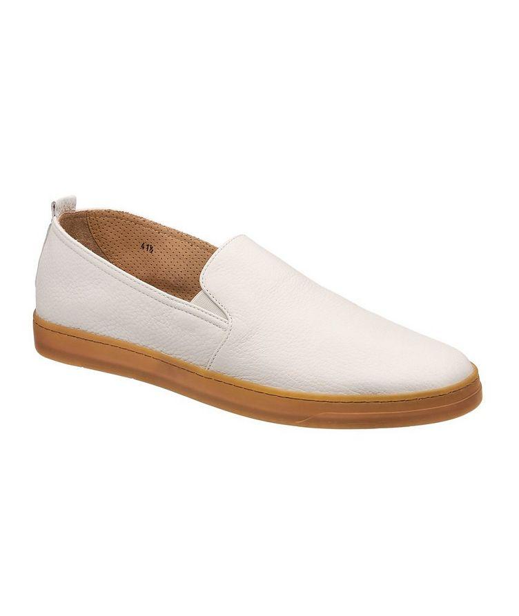 Chaussure sport en cuir de chevreuil image 0