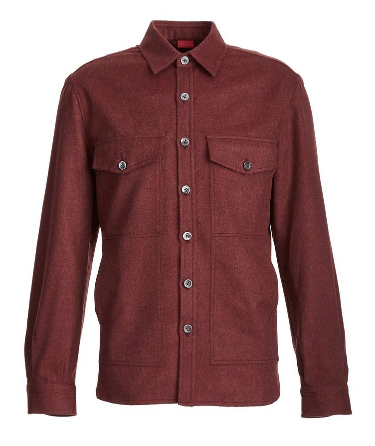Wool-Cashmere Flannel Shirt image 0