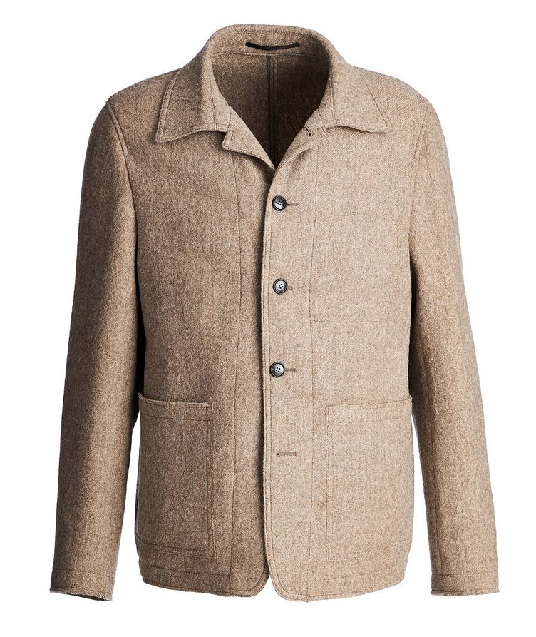 Gio Unstructured Wool Sports Jacket image 0