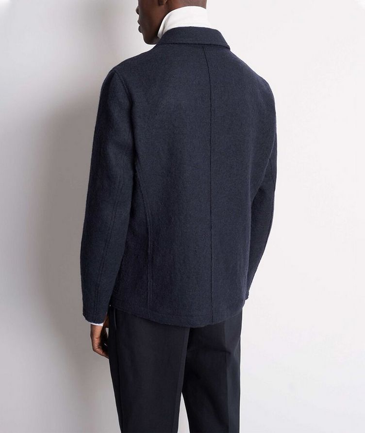 Gio Unstructured Boiled Wool Sports Jacket image 2