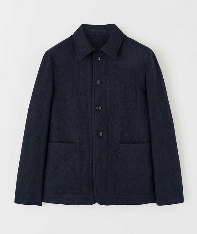 Gio Unstructured Boiled Wool Sports Jacket picture 1