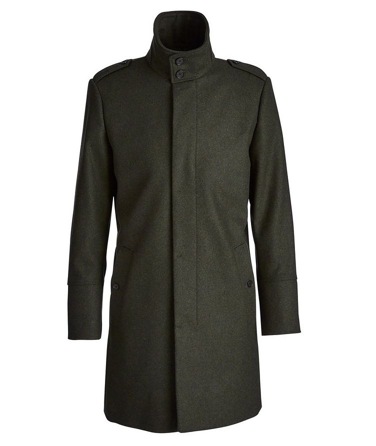 Wool-Cashmere Coat image 0