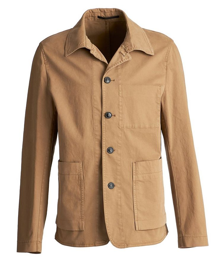 Gionnie GD Stretch-Cotton Shirt Jacket image 0