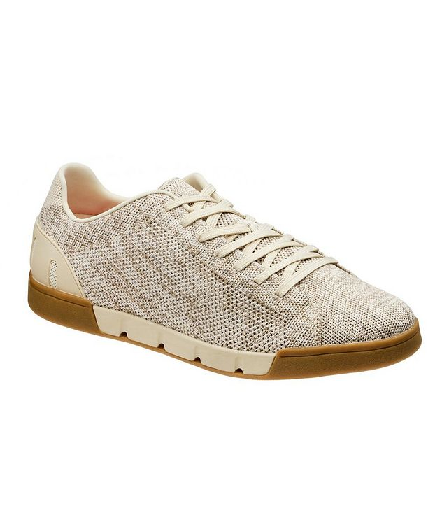 Knit Low-Top Sneakers picture 1