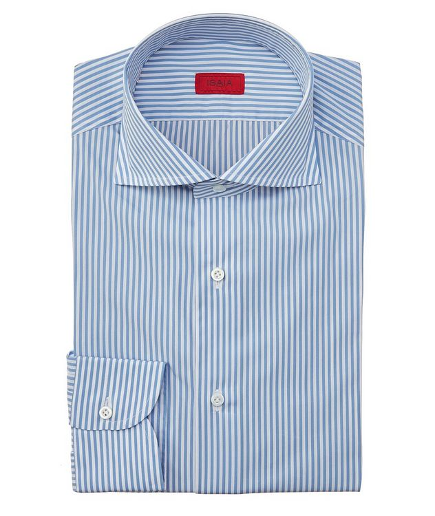 Contemporary-Fit Striped Dress Shirt picture 1