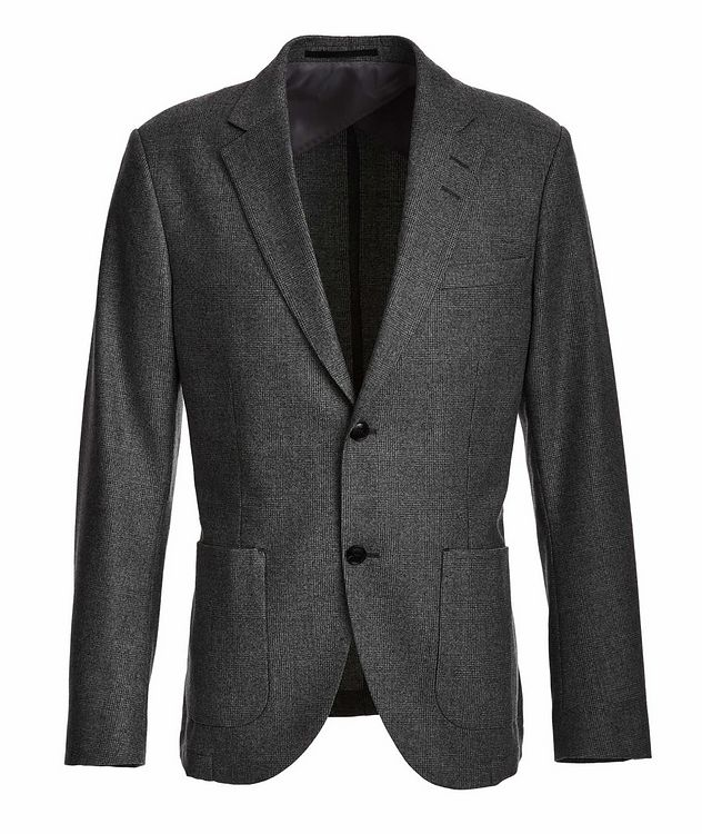 Jamot Wool Check Sports Jacket picture 1