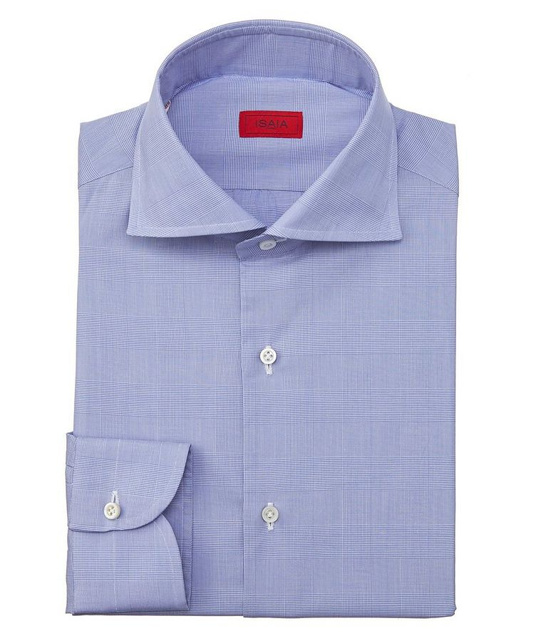 Contemporary-Fit Glen-Checked Dress Shirt image 0