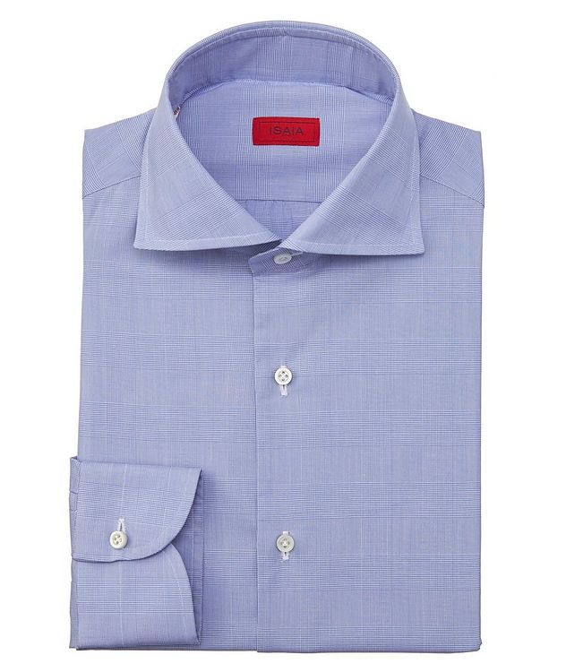 Contemporary-Fit Glen-Checked Dress Shirt picture 1