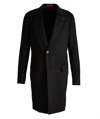 Isaia Cashmere Overcoat