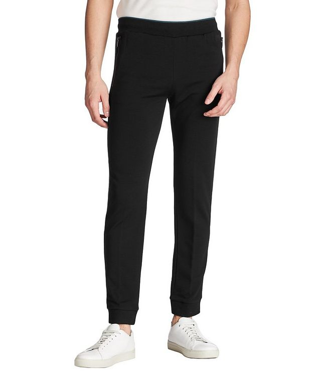 Pantalon sport en tissu Techmerino picture 1