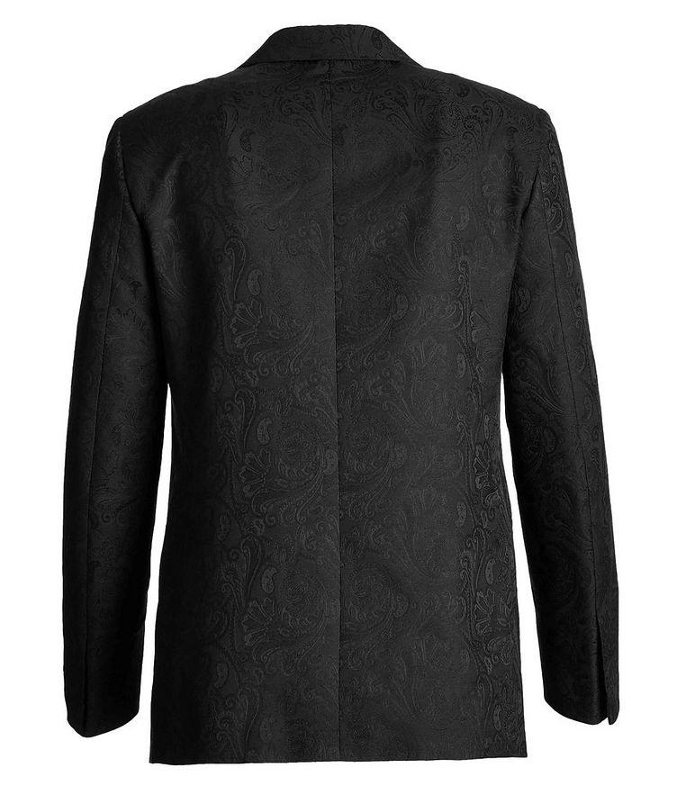 Paisley Wool, Cotton, and Silk Tuxedo Jacket image 1