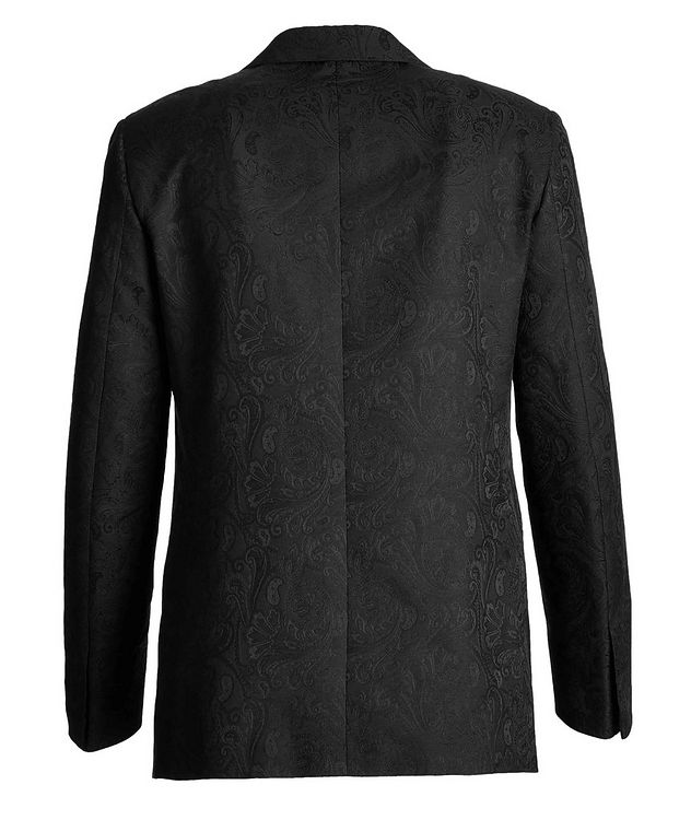Paisley Wool, Cotton, and Silk Tuxedo Jacket picture 2