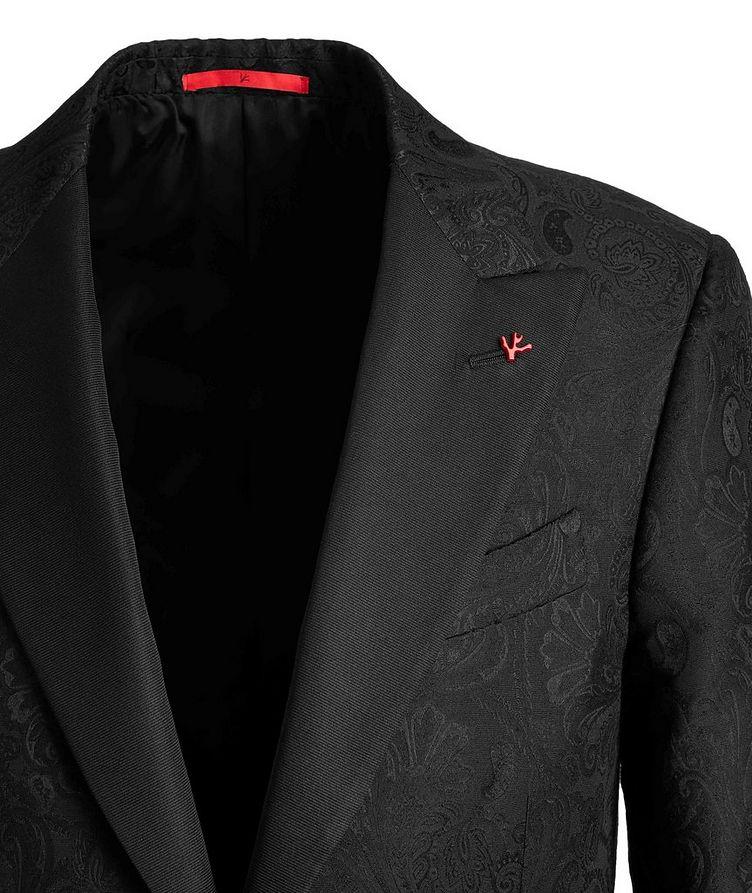 Paisley Wool, Cotton, and Silk Tuxedo Jacket image 2