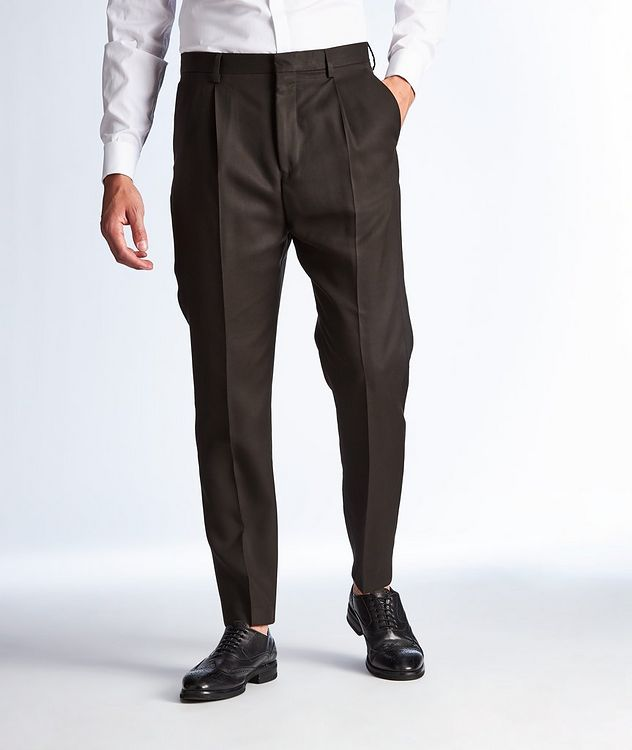 Thomas Lyocell Twill Dress Pants picture 1