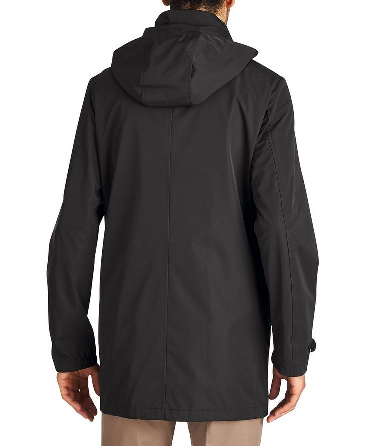 Water-Resistant Hooded Coat image 1