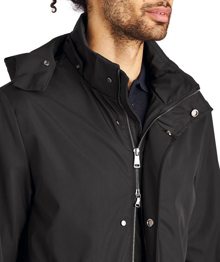 Water-Resistant Hooded Coat image 2