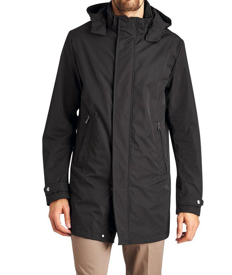 Manteau résistant à l¿eau à capuchon image 0