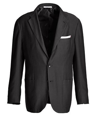 Kiton Contemporary Fit Cotton-Cashmere Sports Jacket