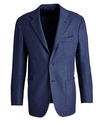 Kiton Contemporary Fit Cashmere Sports Jacket