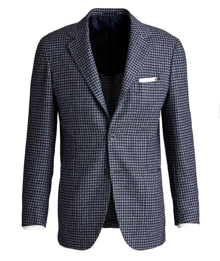 Contemporary Fit Wool, Silk, and Linen Sports Jacket image 0