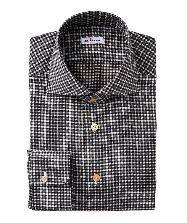 Contemporary Fit Houndstooth Dress Shirt picture 1
