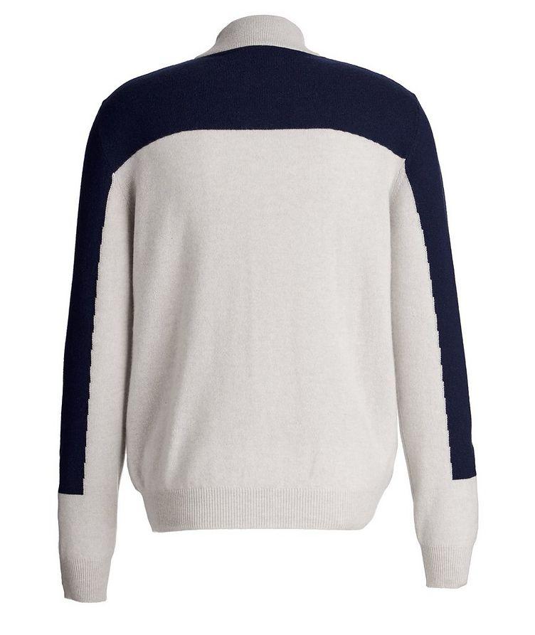 Zip-Up Cashmere Cardigan image 1