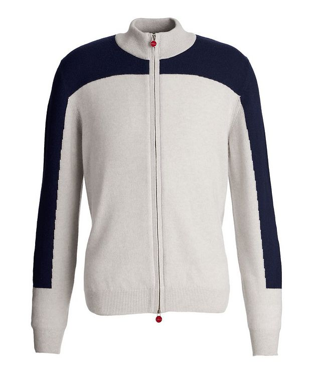 Zip-Up Cashmere Cardigan picture 1
