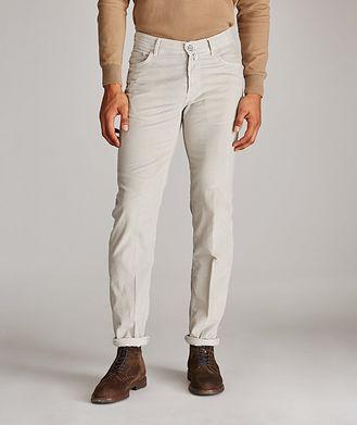 Kiton Cotton Corduroy Pants